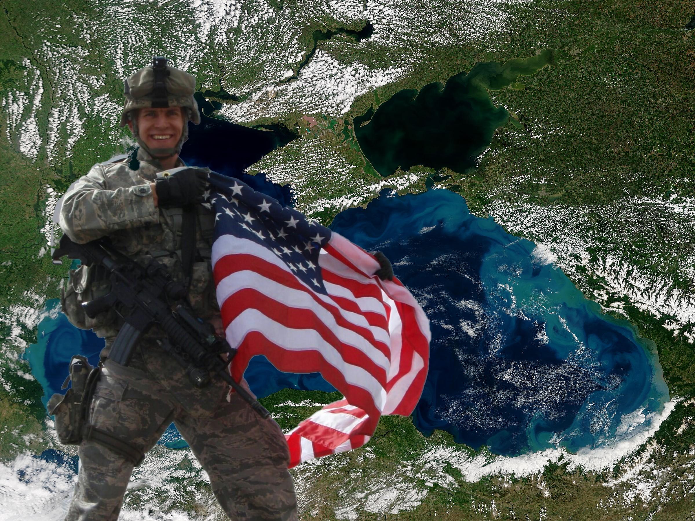 Американцы решили навсегда «прописаться» в Чёрном море...