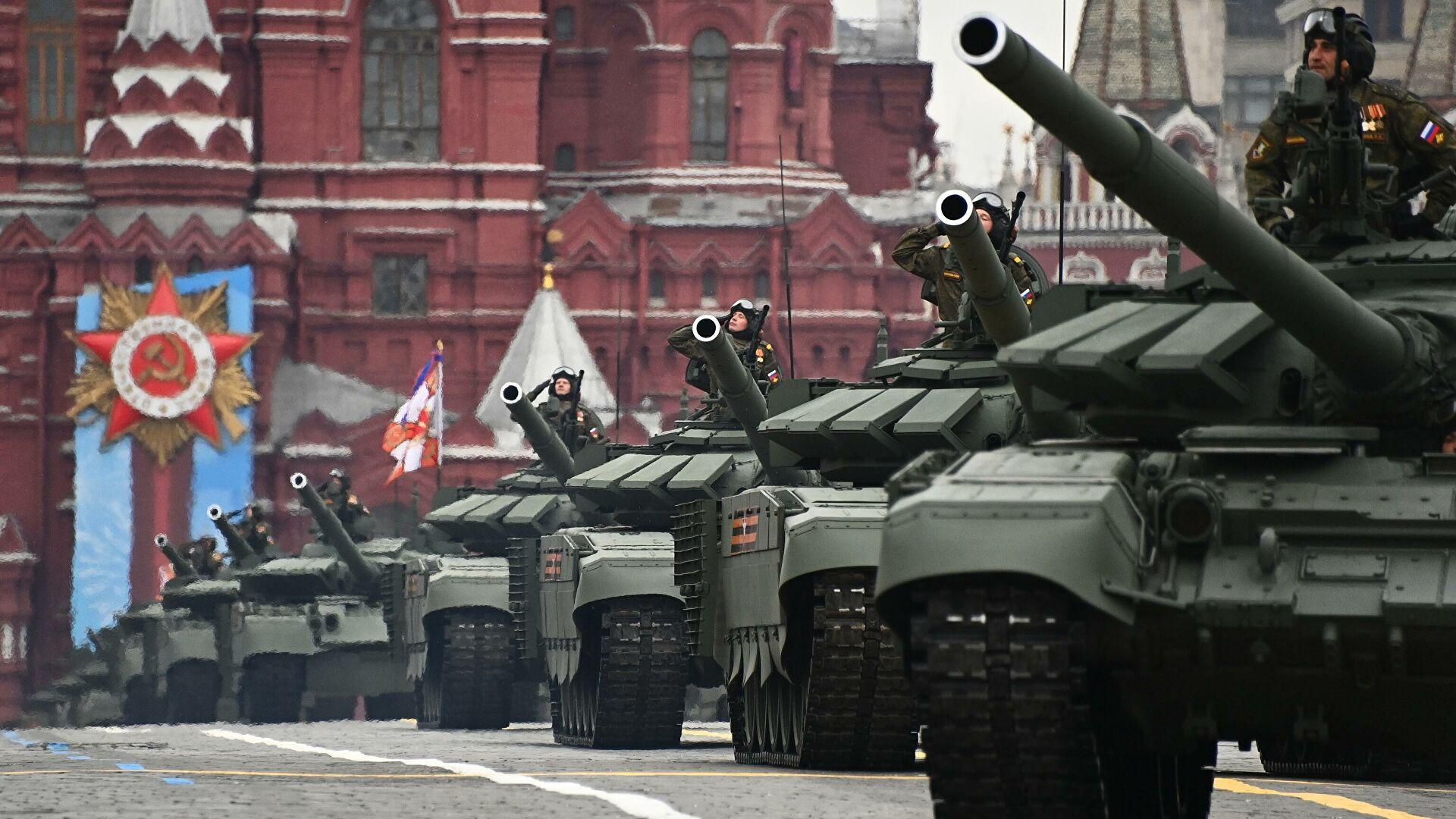 В США назвали ТОП-5 вооружений РФ на Параде Победы...