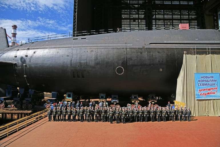 Россия вывела в Белое море новые атомные субмарины