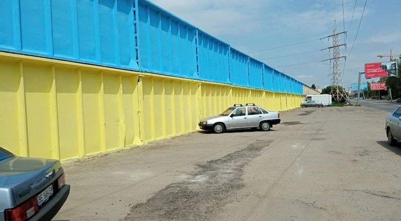 100-метровая жовто-блакитная перемога в Одессе
