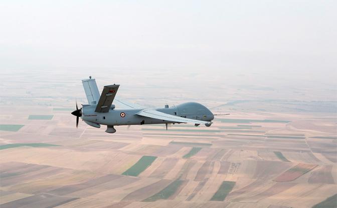 Воздушный бой: «Анка» из Турции против русского