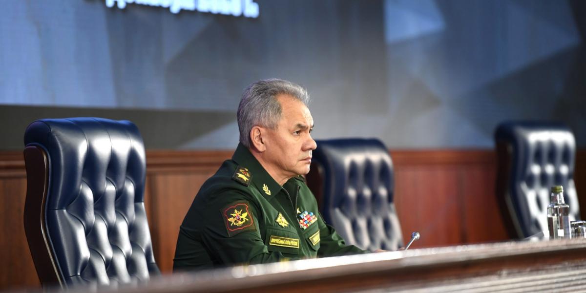 Шойгу заявил о производстве в России серийных боевых роботов
