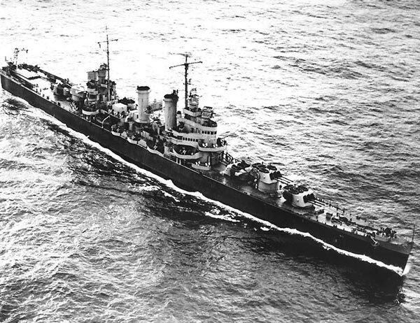 USS Brooklyn — головной корабль серии лёгких крейсеров США. Постройка данного типа крейсеров стала вынужденной мерой после подписания Лондонского соглашения, так как новые тяжёлые крейсеры США построить в тот момент не могли, а малый калибр решено было восполнить скорострельностью и числом орудий