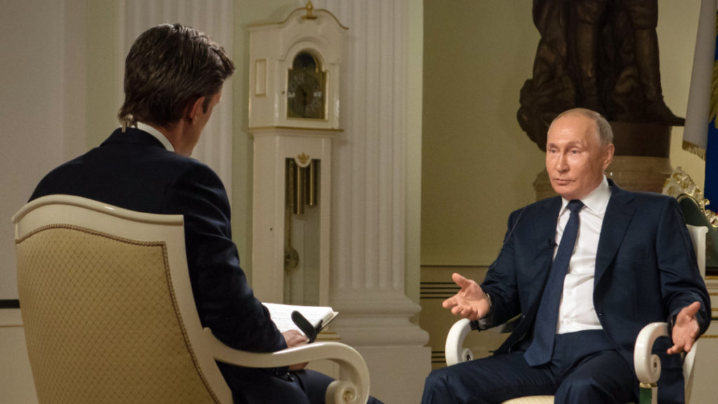Интервью Путина: интересные подробности перед его