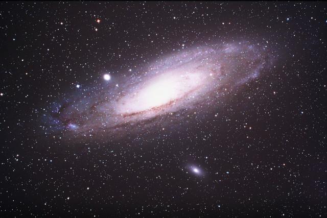 «Туманность Андромеды» (Галактика M31).