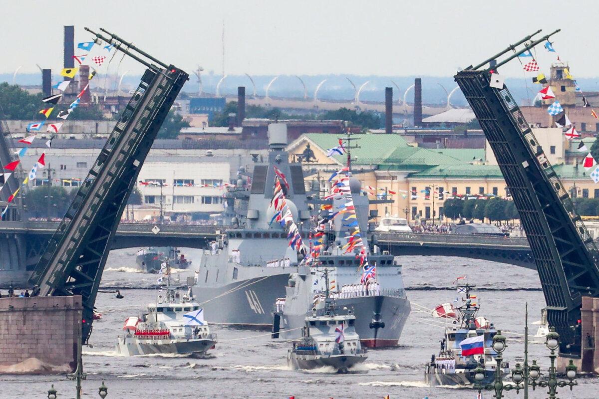 Как прошёл Главный военно-морской парад...