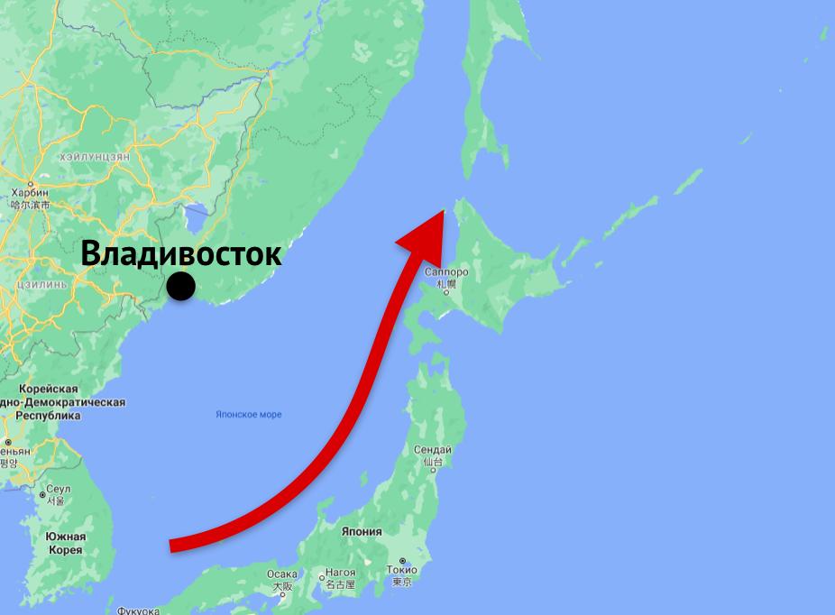 Почему в Японии гораздо теплее, чем во Владивостоке, хотя они на одной широте