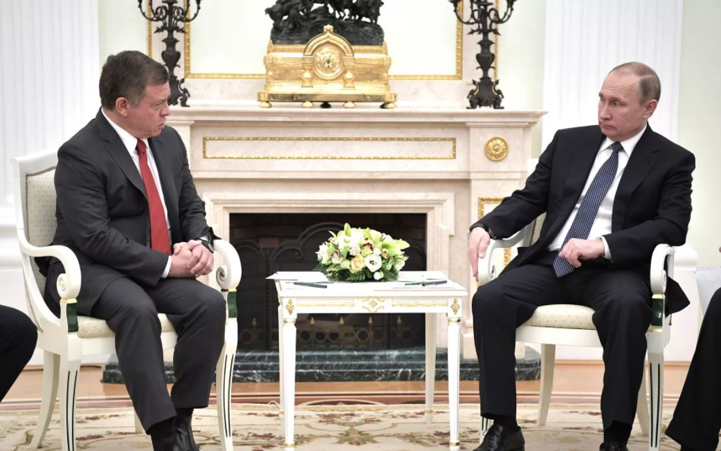 О чём Путин говорил с королём Иордании?