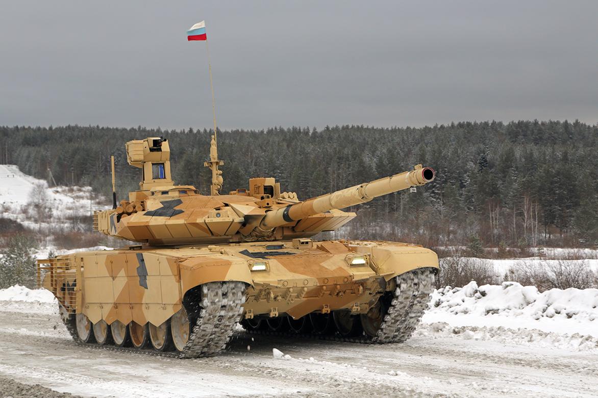 Это «Прорыв»: в России появился танк с «загоризонтным зрением»...