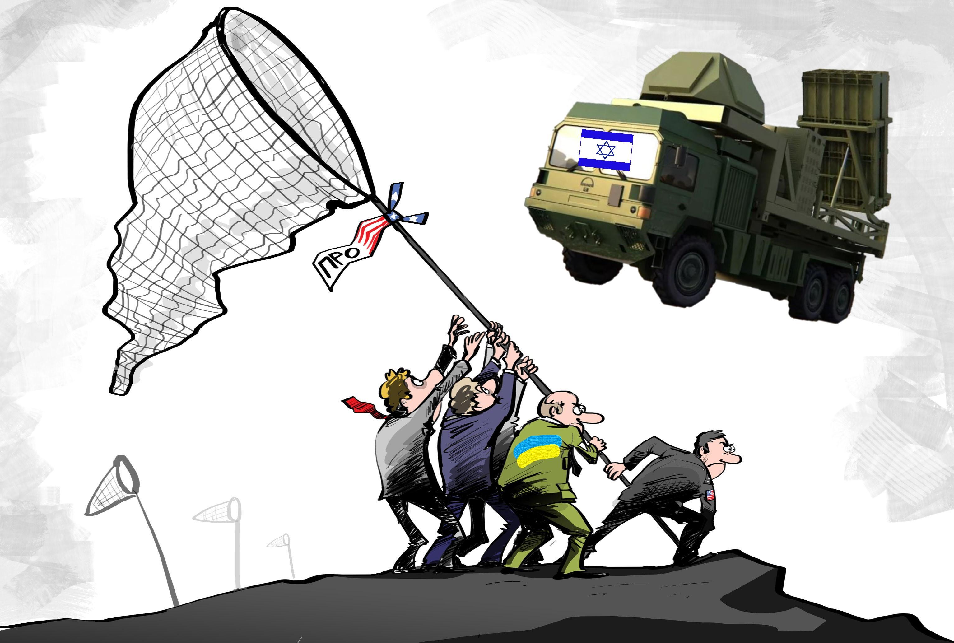 Украина ждёт, когда ей дадут по «Железному куполу»...