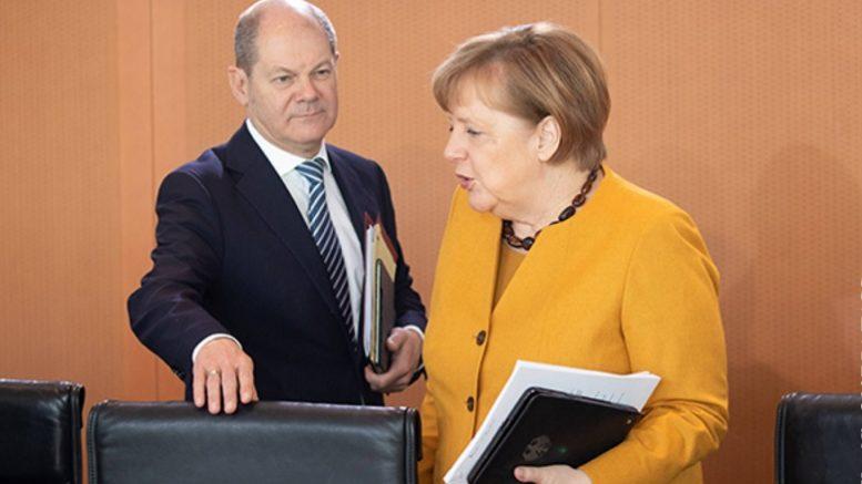 Немцы задержали Меркель до Рождества
