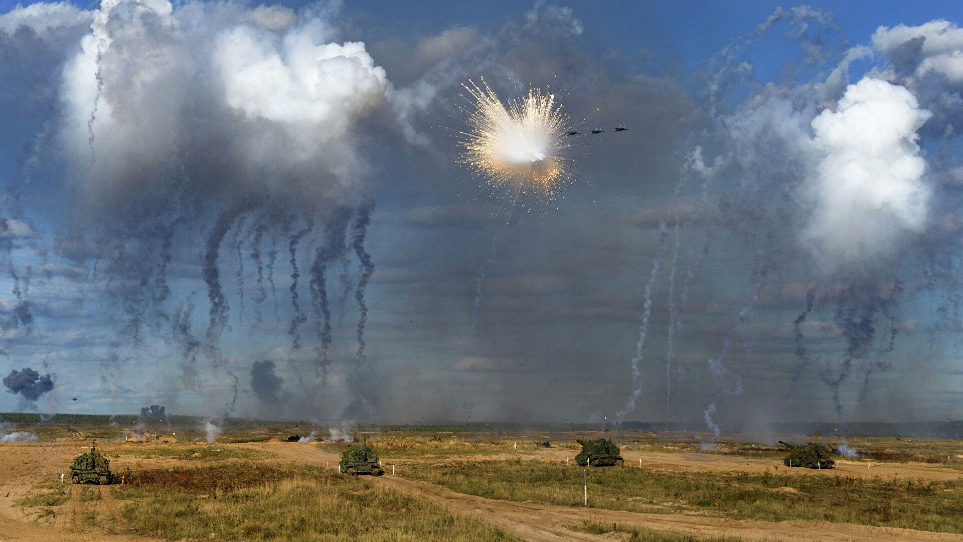 На «Запад»: российско-белорусские учения возмутили НАТО...