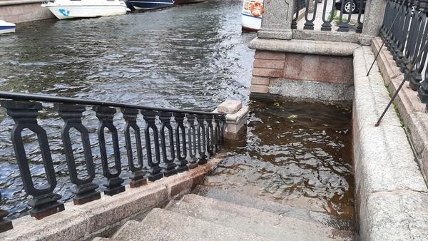Уровень воды в Неве опустился до 120 сантиметров 6