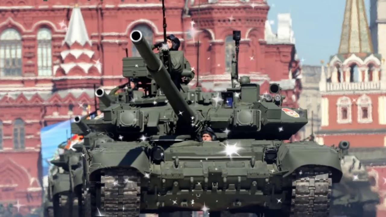 В России отметили День танкиста...