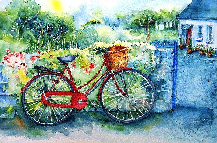 Открытки, винтажные открытки с велосипедом