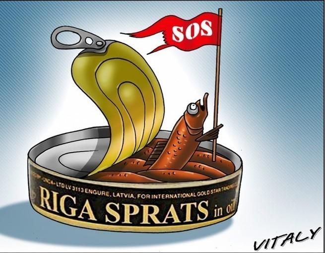 Россияне поставили латышей на место за предложение раздробить РФ