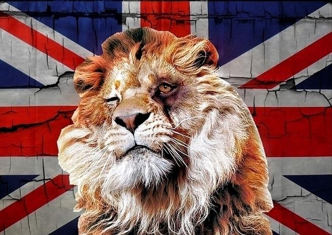 Британский лев, похоже, отощал совсем