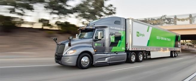 TuSimple стал первым «единорогом» на рынке беспилотных грузовиков