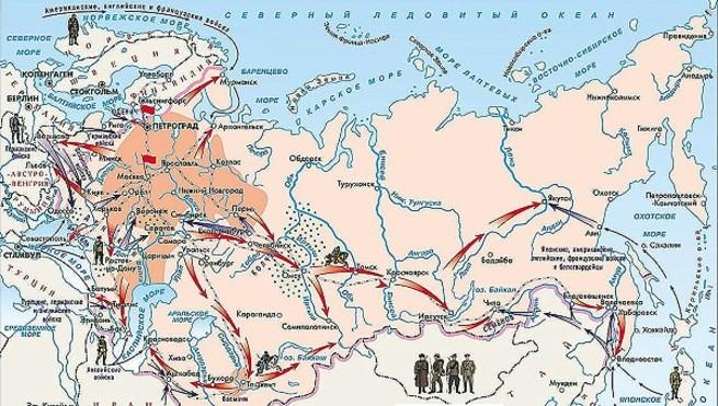 Неизвестная война 1918 - 1922 гг, которую можно назвать Первой ...