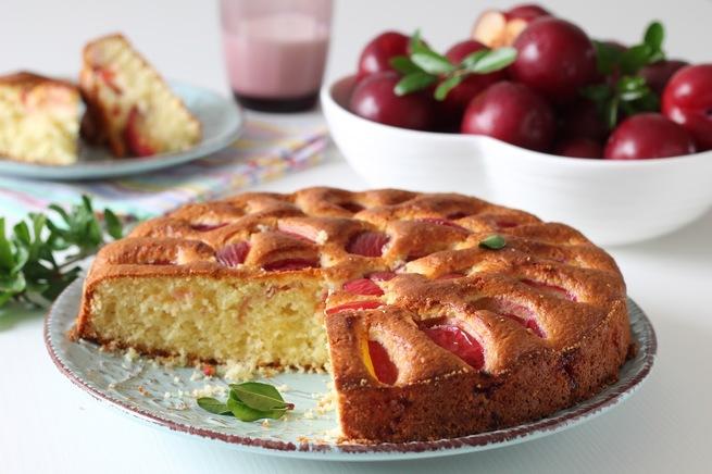 Поэтому, приготовить пирог со сливой быстро и вкусно можно не только в сезон, но и практически круглый год.