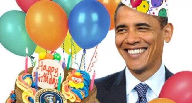 Поздравление от обамы с днем рождения