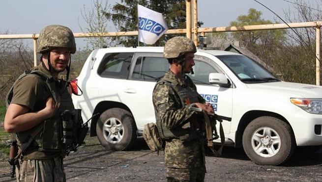 В Германии заговорили о вооружённых ОБСЕшниках в Донбассе