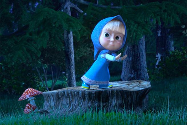 Маша в лесу картинки из мультфильма