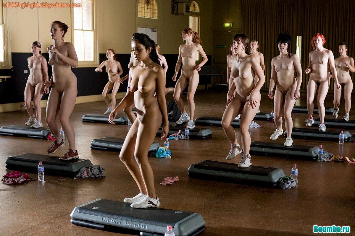 голые фитнес телки смотреть без