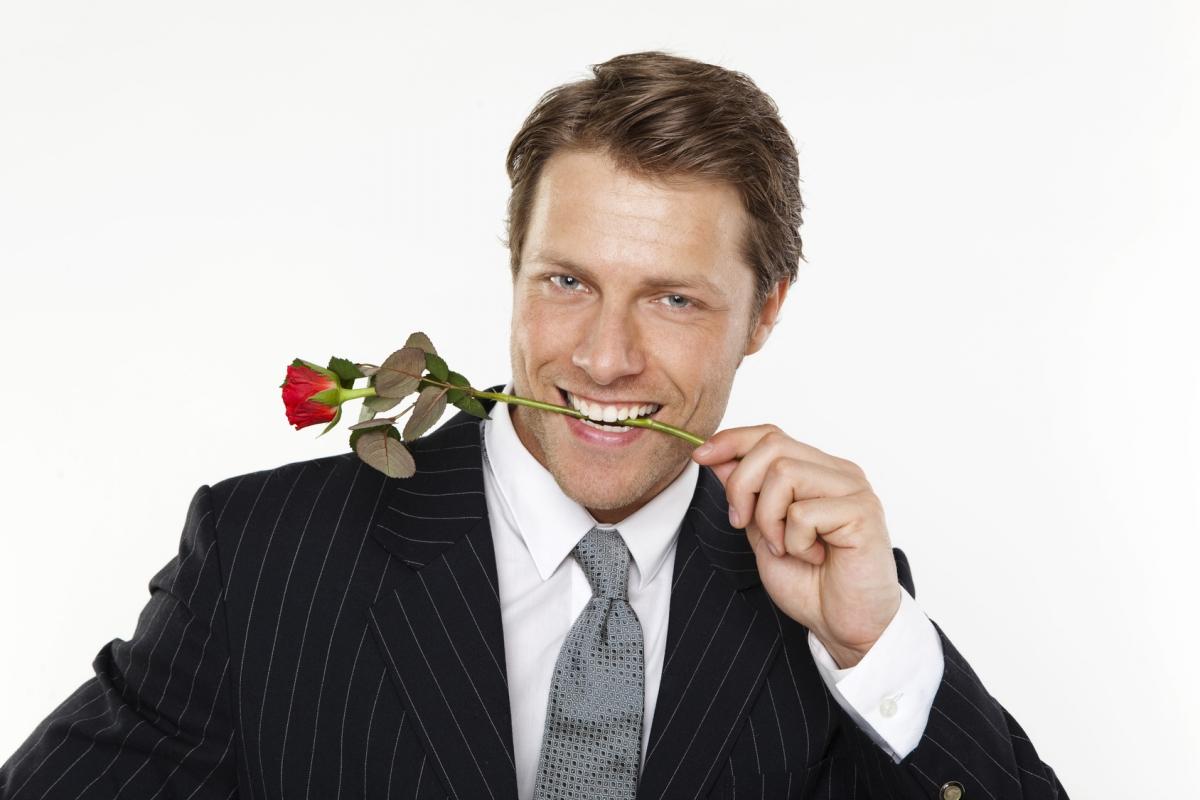 Открытки улыбка красивого мужчины