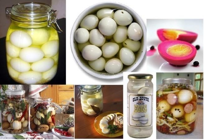 Яйцо в банке рецепт