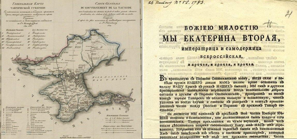 Картинки присоединение крыма к россии 1783 год, годовщиной свадьбы лет