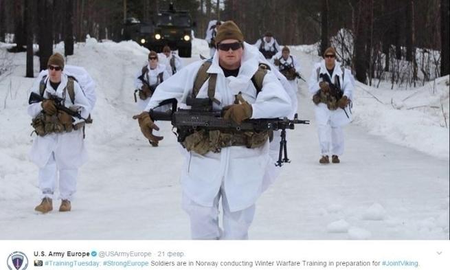 Морпехи США едва не замерзли насмерть во время учений у границы РФ