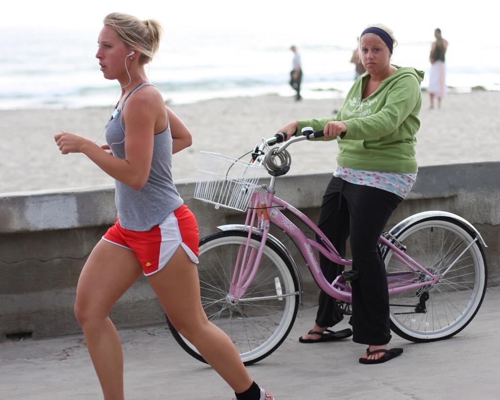 похудение и велосипед