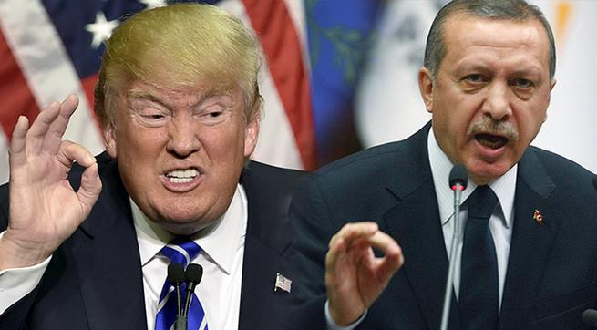 Трамп и Эрдоган играют в Рэмбо