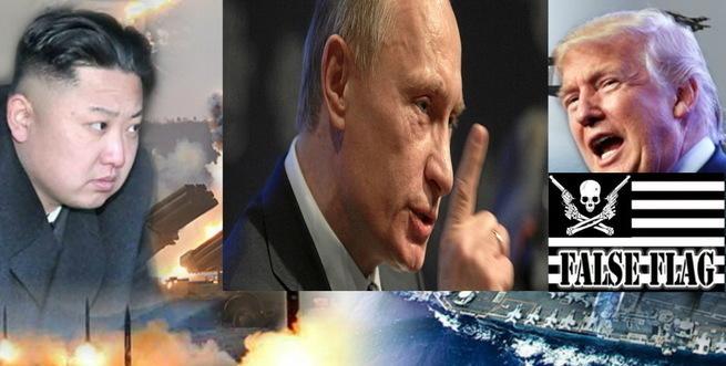 Владимир Путин: Корейский кризис – это фальшфлаг для начала Третьей мировой войны