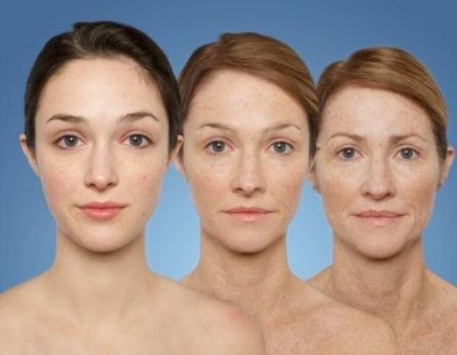 Фото возрастных изменений лица по возрастам
