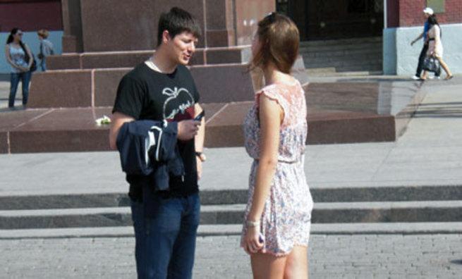 диалог при знакомстве с девушкой вконтакте