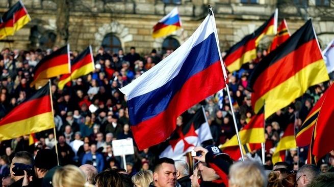 Немецкие элиты взяли курс на Россию?