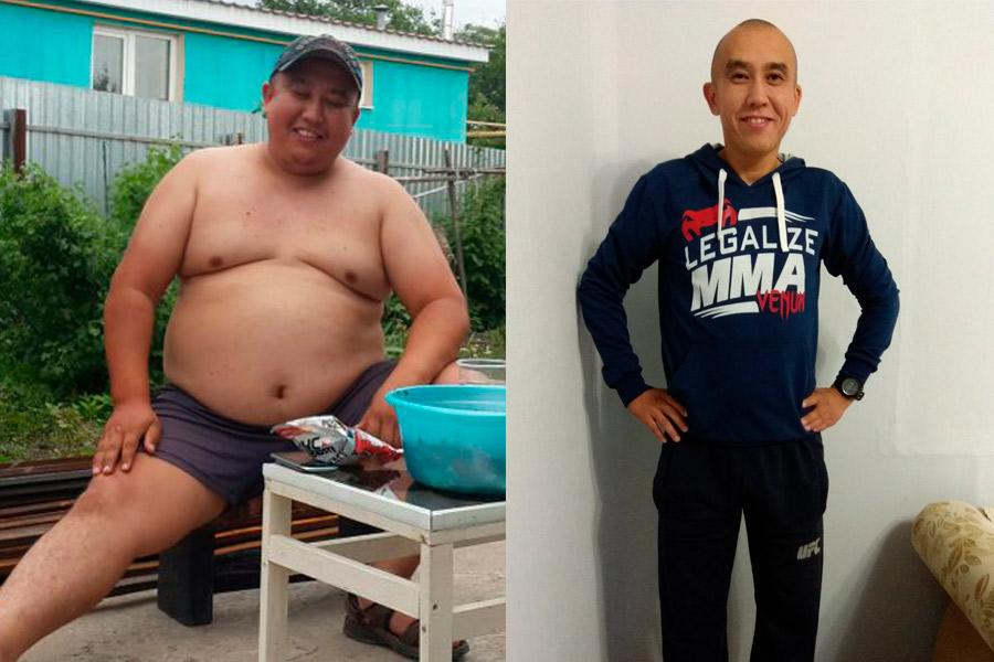 Парень 18 лет похудеть