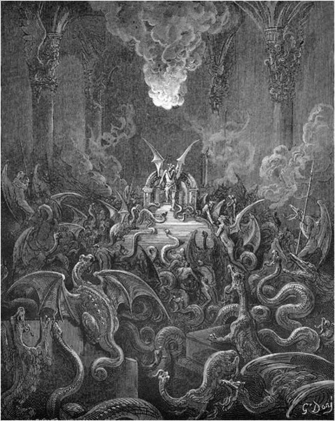 Картинки по запросу гюстав доре сатана