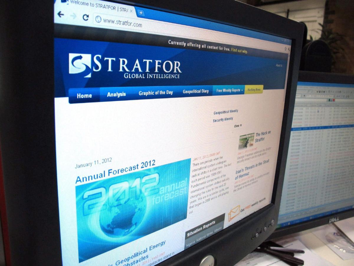 Будущая война в прогнозах Stratfor