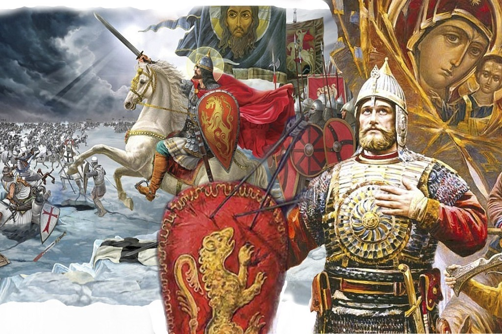 александр невский ледовое побоище картинки