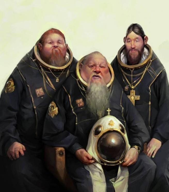 Дню победы, священник смешная картинка
