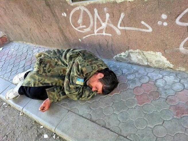 Картинка пьяный солдат