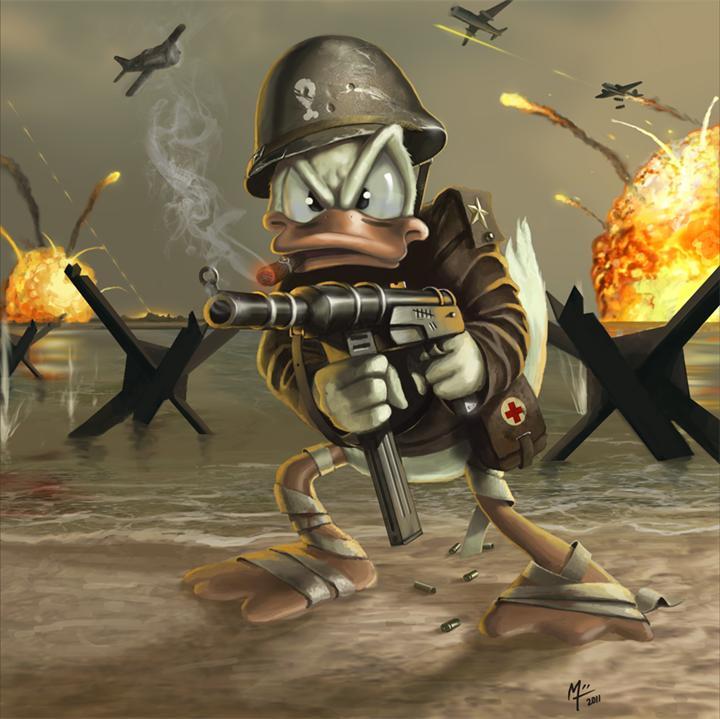 Смешной воин картинка