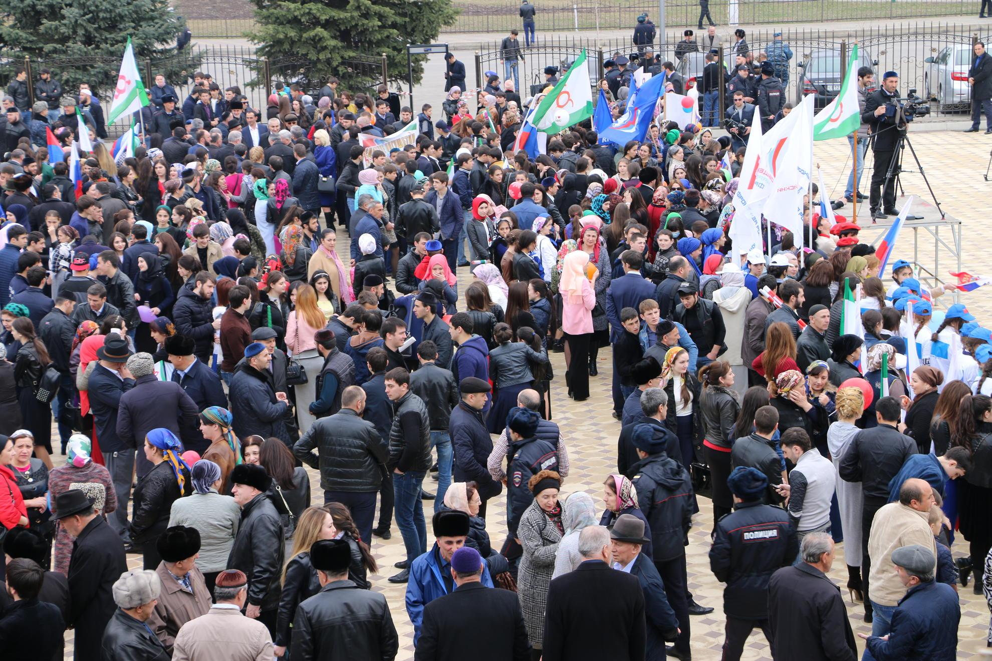 ИНТЕРФАКС: Суд признал законным отказ правительства Ингушетии выделить площадку для митинга в Магасе