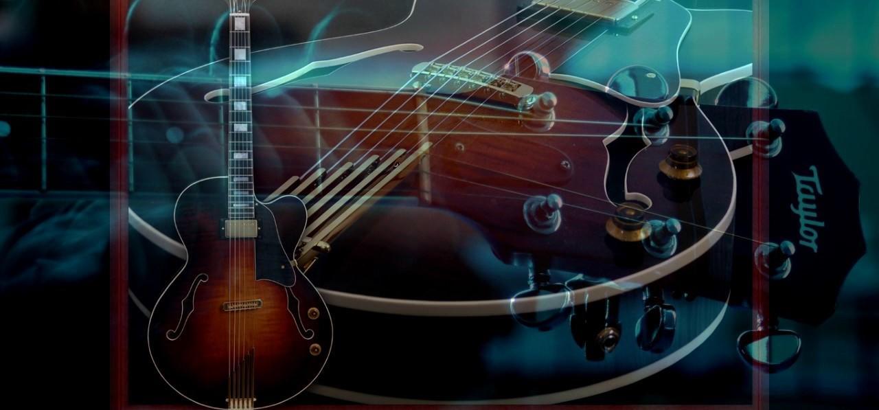 Блюзовая гитара картинка