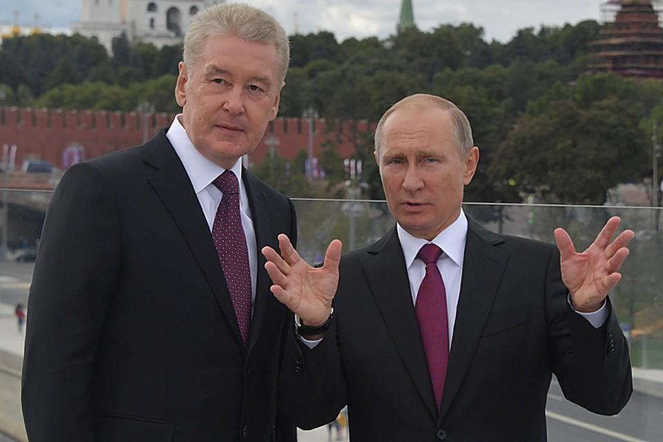 Собянин - президент России: мягкий трансфер власти