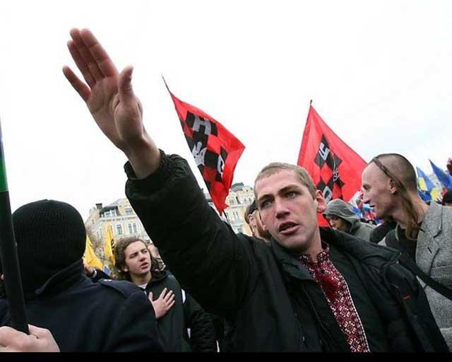 картинки про фашизм на украине образом