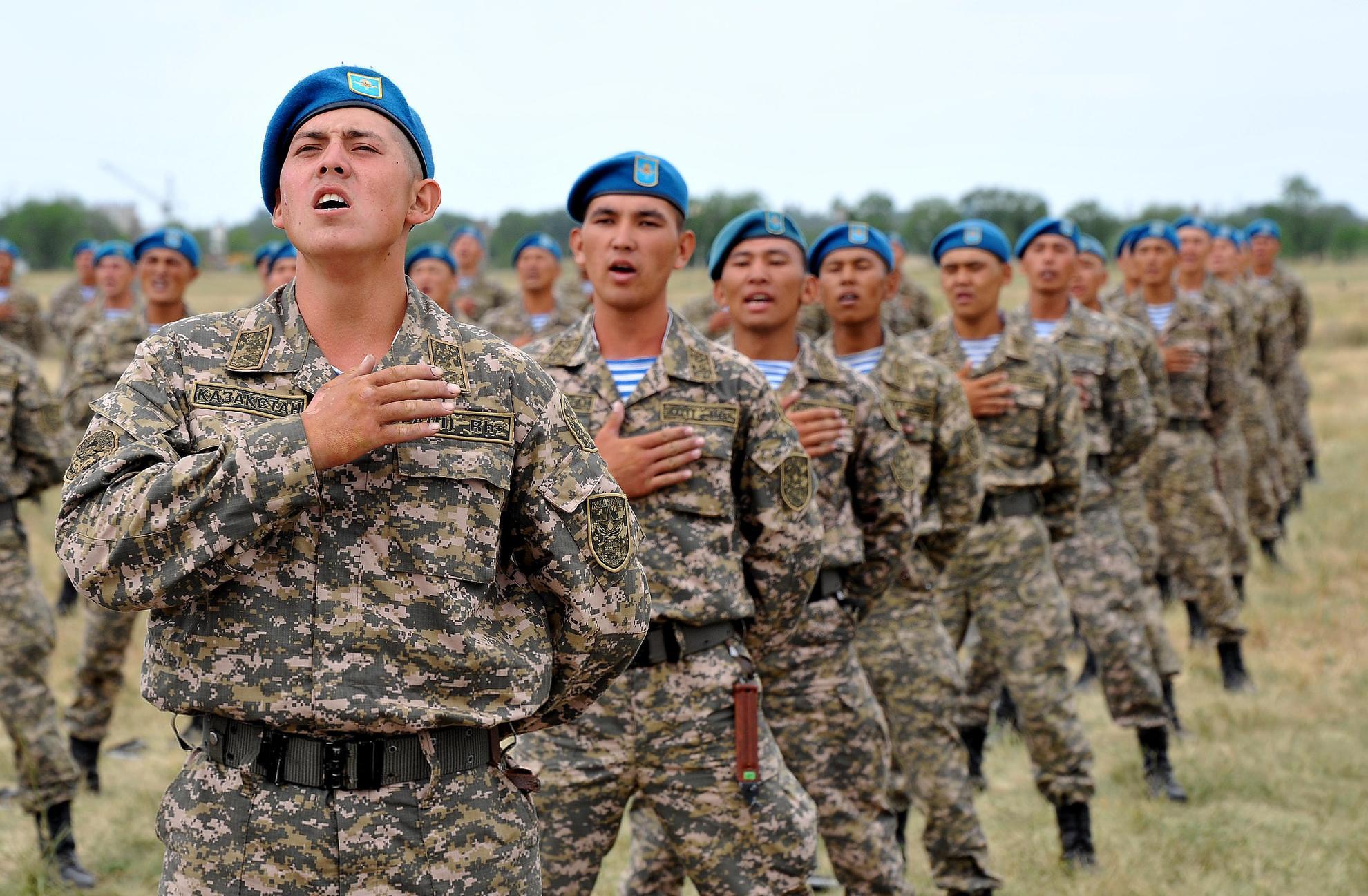 форма десантника фото казахстан